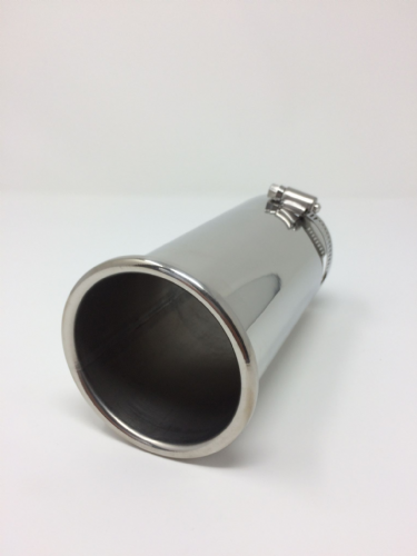 Stainless Steel Rolled Tip Exhaust 45mm - 65 mm Top Quality Exhaust Tip …